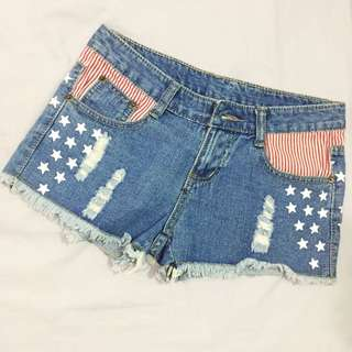 Hot Pants Ripped American