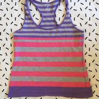 Stripe Singlet Size XL
