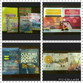 REPRICED!! NEGOTIABLE!! K12 Books