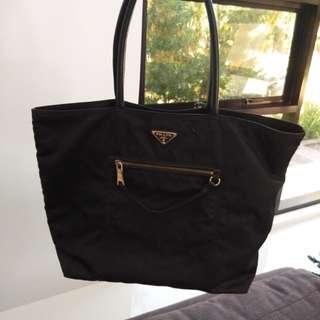 Auth Prada Tote Bag