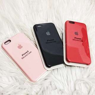 Official iPhone Silicone Case for 5, 5s, SE, 6, 6s, 6plus, 6splus, 7, 8, X