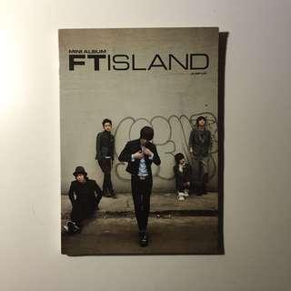 🚚 FTISLAND MINI ALBUM JUMP UP 韓版專輯