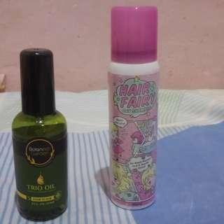 Hair Dry Shampoo & Hair Elixir (Bundle)