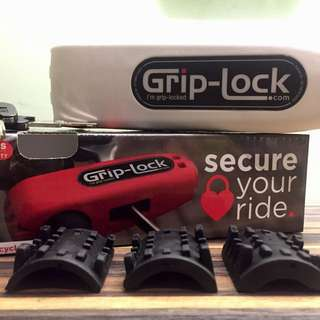 🚚 紐西蘭製造 右把鎖 Grip Lock (白色版本) , 保固一年, 手把鎖/手把防盜鎖