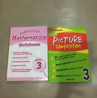 P3 assessment books n magazine