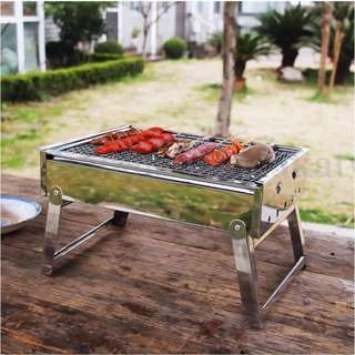 Outdoor Portable Folding BBQ Grill Charcoal BBQ brand new