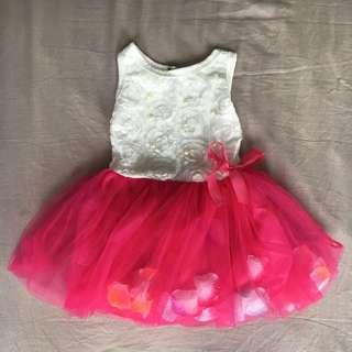 Flower Petals tutu dress