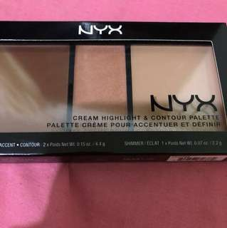 NYC CREAM HIGHLIGHT & CONTOUR PALETTE