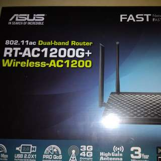 Sealed Asus Wireless Router RT-AC1200G+