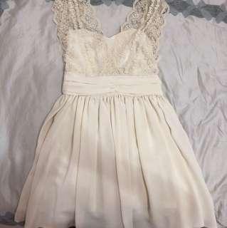 🚚 婚禮約會白洋裝