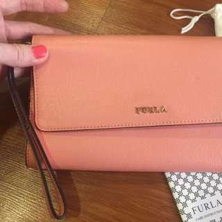 Furla-hand wallet original