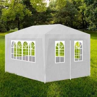 Portable Gazebo Party Tent w/ 4 Walls in White 3x4m brand new