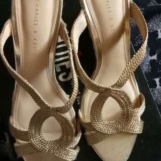 Reprice charles n keith wedges