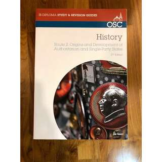 IB HISTORY OSC Guide: Authoritarian and SPS
