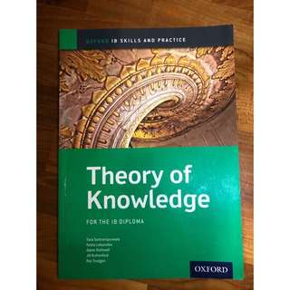 IB TOK (Theory of Knowledge) Guide