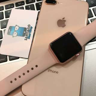 Unlocked (Rose Gold) Iphone 8 Plus 64GB