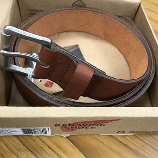 Red Wing Oro Pioneer Leather Belt 40inch 104cm