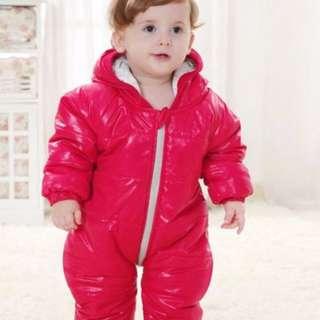 Kids Winter Romper bubble jacket