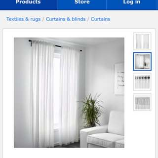ikea vivan curtain