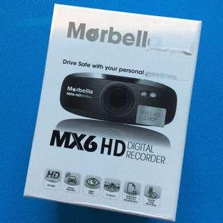 Marbella MX6 Full HD Car Recorder (Brand New)
