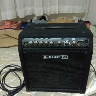 Line6 Bass Amp 15watts