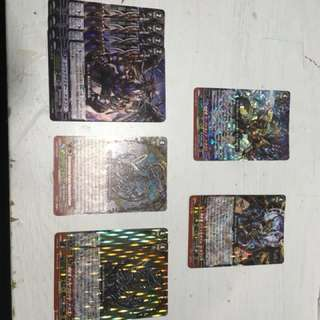 Vanguard Gear chronicle assorted cards