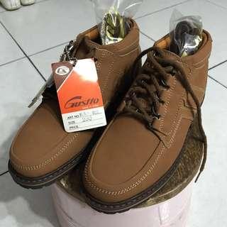 🚚 Gustto英倫風馬丁靴工作鞋登山鞋靴