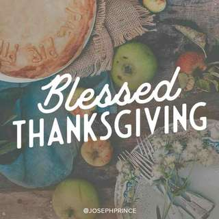 Blessed thanksgiving!