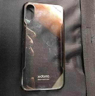 🚚 X Doris iPhone x 殼 黑 透明玻璃