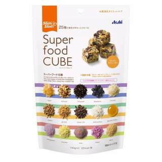 (全新訂購) 日本製造 Asahi Slim Up Slim Super Food Cube 能量方塊 144g