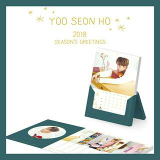 [PRE-ORDER] YOO SEONHO 2018 SEASON'S GREETINGS