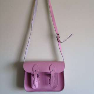 The Cambridge Satchel Company Mini Pink Leather