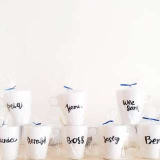 Early Bird Christmas Special Customised / Personalised Mugs