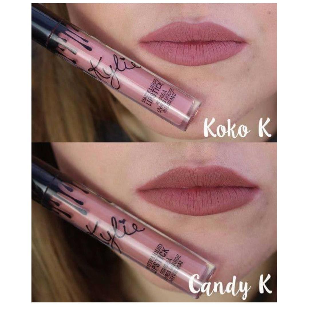 2in1 Kylie Liquid Lipstick Lipcream W Lip Liner Koko K Candy Health Beauty Makeup On Carousell