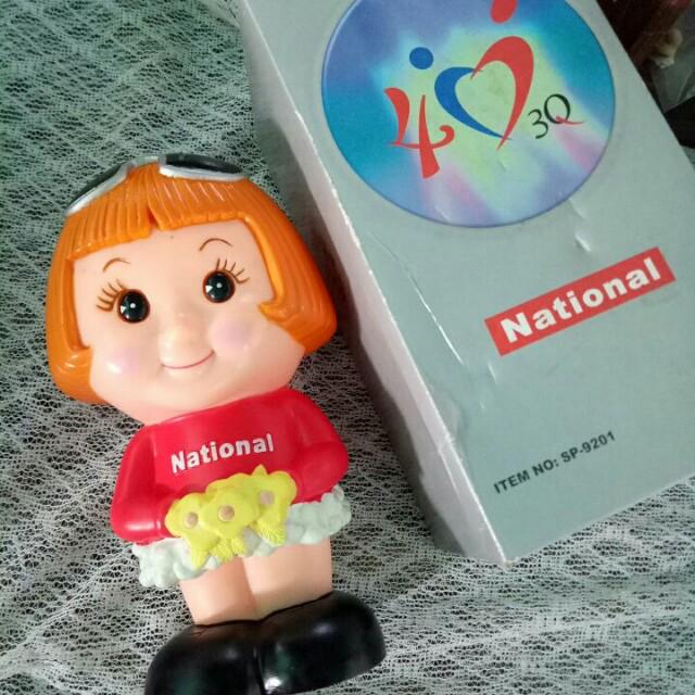 國際牌40週年紀念娃娃存錢筒#好物任你換