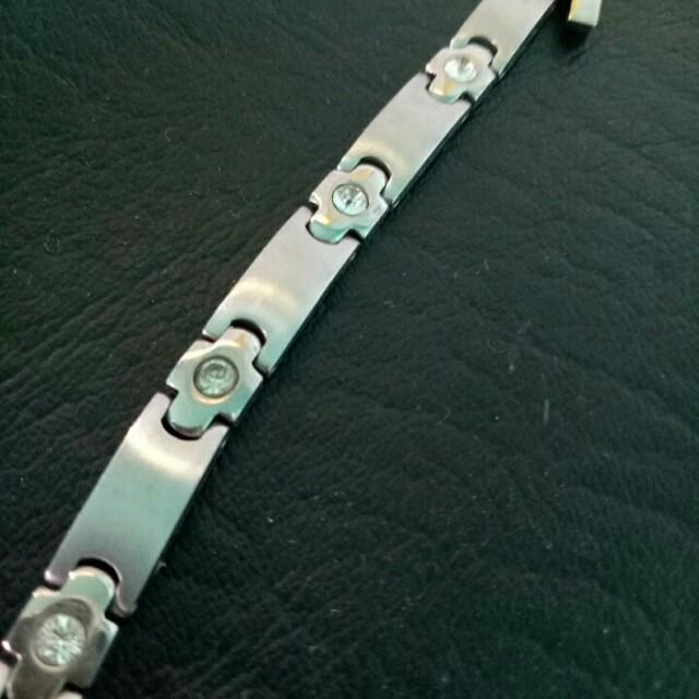 鑲鑽簡約型手鍊