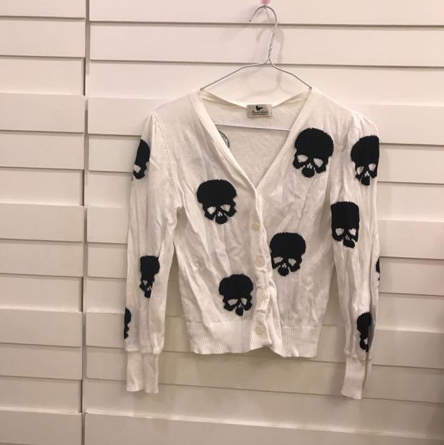 骷髏💀針織衫