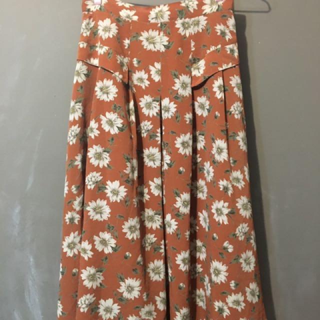 日本製花裙