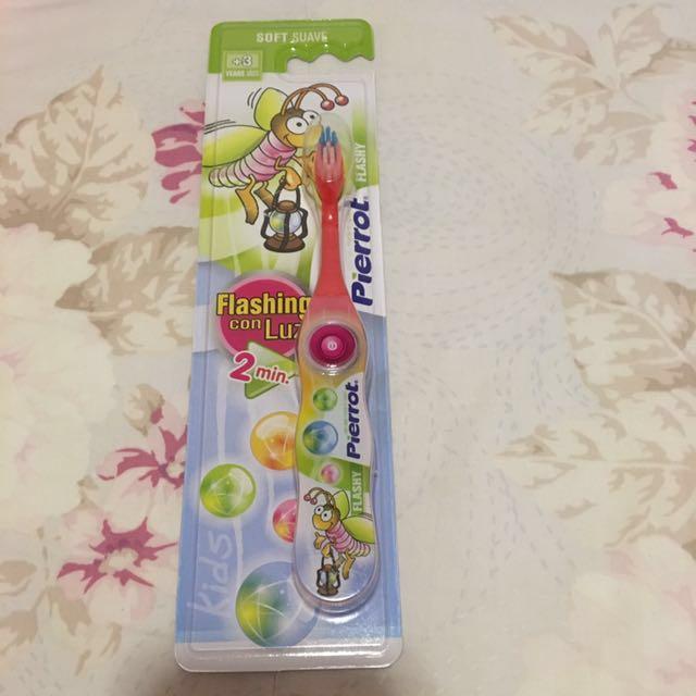 西班牙幼兒學習二分鐘發光牙刷