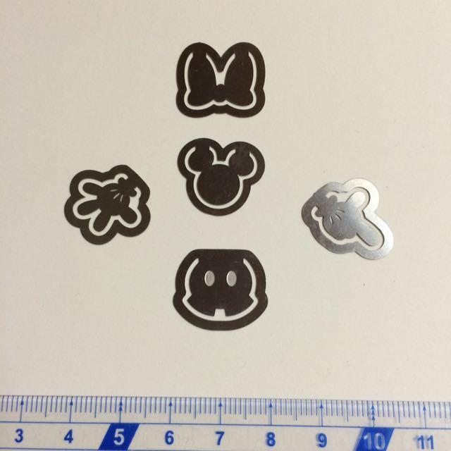日本帶回 迪士尼米奇米妮書籤組#手滑買太多