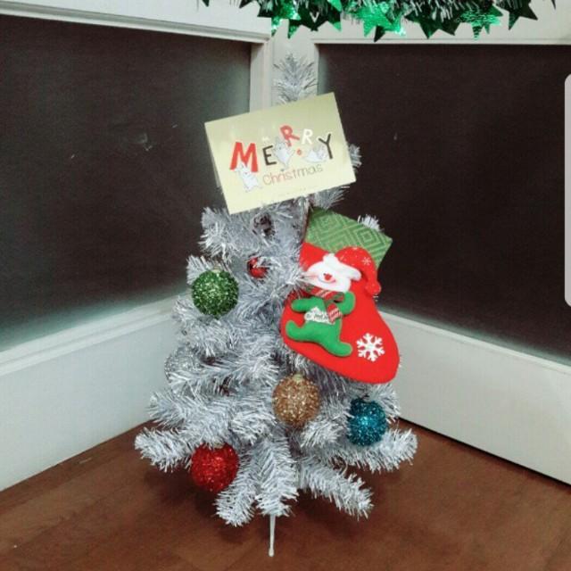 [百元]小聖誕樹 附吊飾