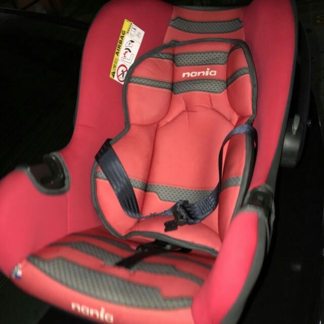 二手納尼亞汽座 安全座椅 汽車座椅