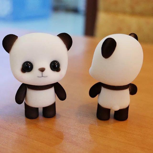 超萌植絨 熊貓 公仔