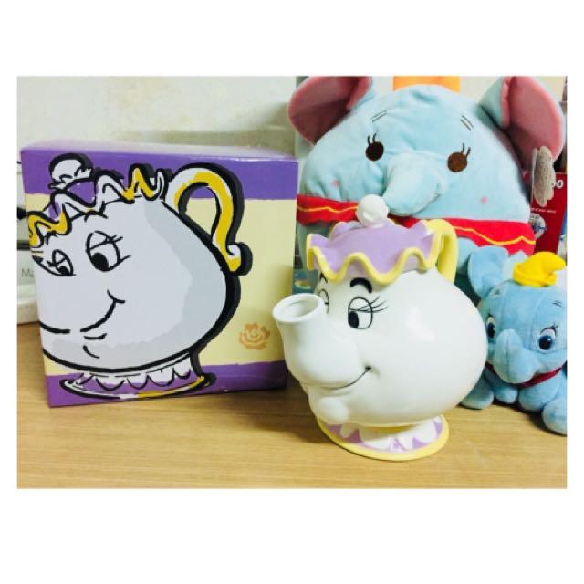 美女與野獸 茶壺 茶煲太太 日本迪士尼🇯🇵