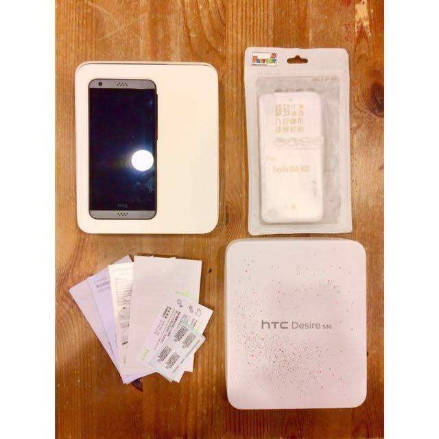 二手 可議 HTC Desire 530 黑色 盒裝 配件完整