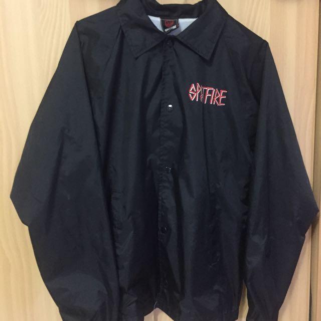 板牌 Spitfire X Deathwish 聯名款教練外套