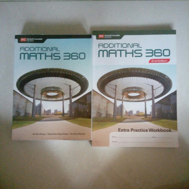 Additional Maths 360, Books & Stationery, Textbooks on Carousell