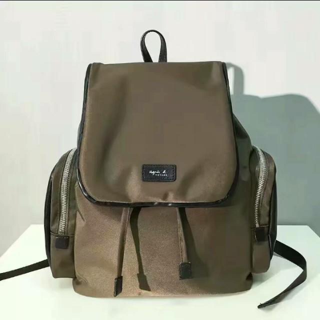 Agnes b. Canvas Backpack