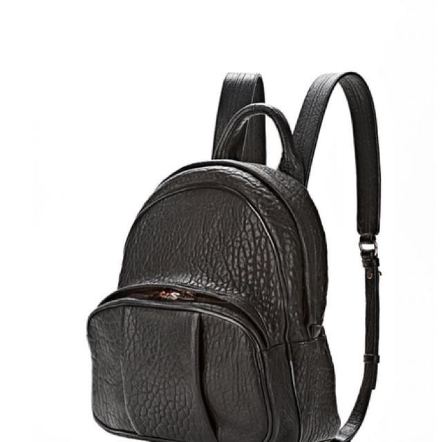 alexander wang dumbo rose gold backpack pears Louis Vuitton chanel balenciaga saint laurent ysl Chloe Hermes Valentino gucci