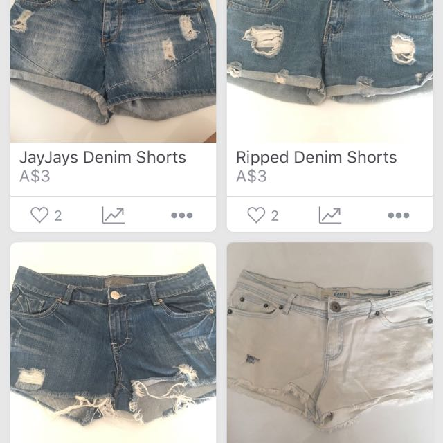 All 3 shorts bundle!